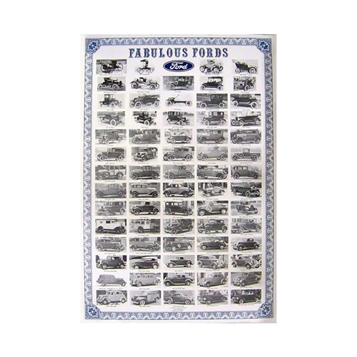 Fabulous Fords (Plakat)