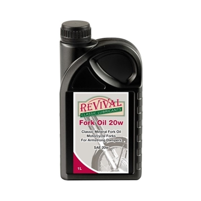 Revival Fork Oil 20w  1 liter