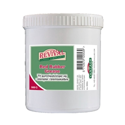 Revival Red Rubber Grease - 500 gr