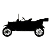 "Ford T Silhouette af 6"" x 3"""