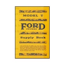 Ford T Model T Ford Ejere Supply Bog