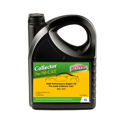Revival Collector 5w50 CAT   5.liter